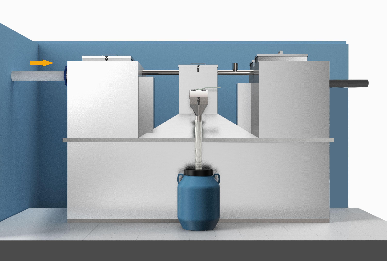地埋式油水分离器(无提升)